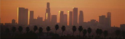 Los Angeles City at Dawn by Rene Sheret