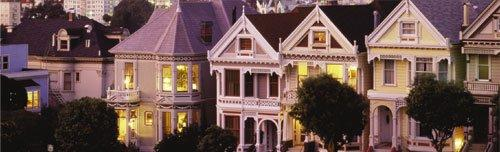 San Francisco - Victorian Houses by Chad Ehlers