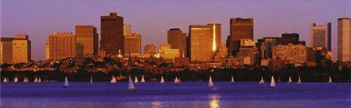 Boston - Yachts on Charles River by Chuck Pefley