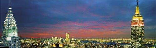 New York City Skyline by Anonymous