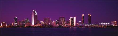 San Diego Skyline by Christian Michaels