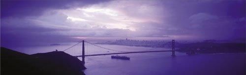 San Francisco - Golden Gate Bridge by Walter Bibikow
