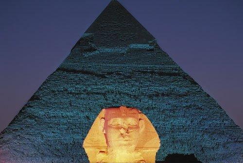 Giza, Egypt by John Lawrence