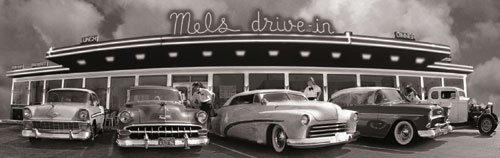 Drive-in, San Francisco by B & W Collection