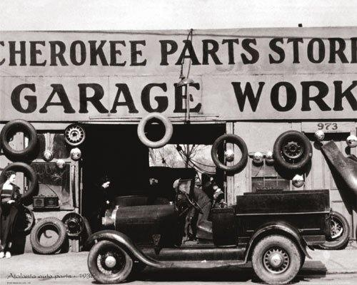 Atlanta Auto Parts, 1936 by B & W Collection