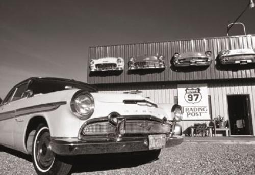 Trading Post, Oregon 1956 by B & W Collection