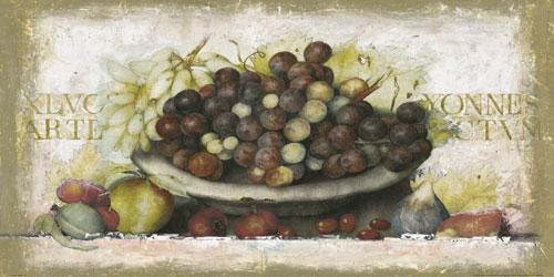 Bowl of Fruits I by G.P. Mepas