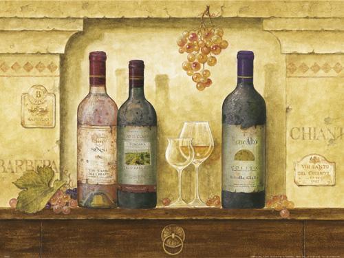 Bottles of Wine III by G.P. Mepas