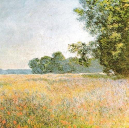 Oat Fields by Claude Monet