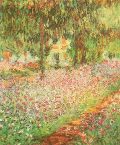 Monet's Garden at Giverny by Claude Monet