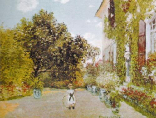 The Artist's House at Argenteuil by Claude Monet