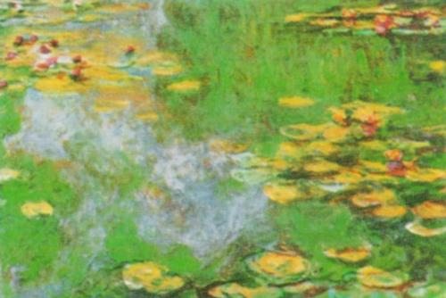 The Waterlily Pond at Giverny by Claude Monet
