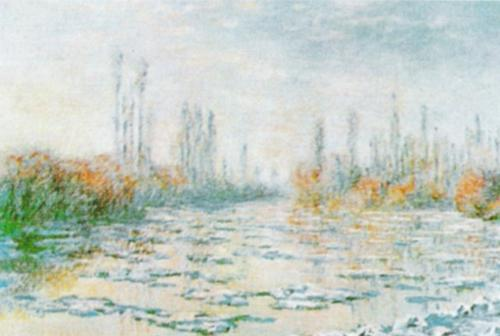 The Thawing by Claude Monet
