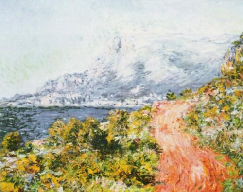 The Red Road, 1884 by Claude Monet