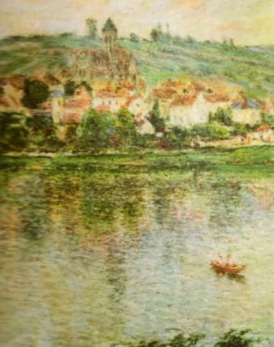Vertheuil, 1901 by Claude Monet