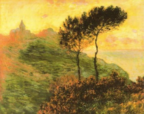 The Church at Varengeville, 1882 by Claude Monet