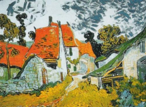 House at Auvers by Vincent Van Gogh