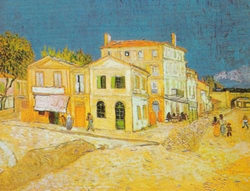The Yellow House, Arles 1889 by Vincent Van Gogh