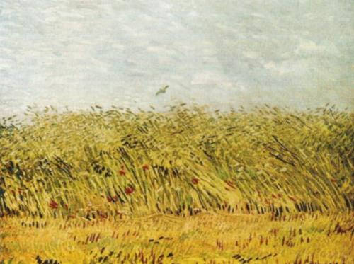 The Wheat Field by Vincent Van Gogh