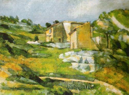 Houses at L'Estaque by Paul Cezanne