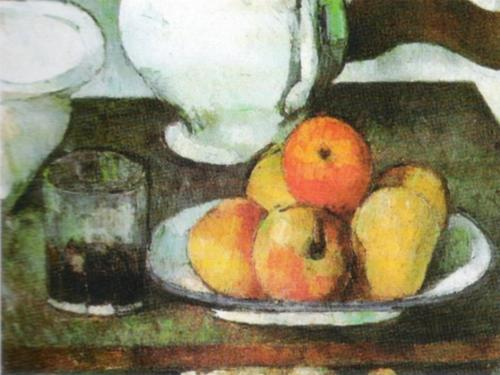 Apples and Pears by Paul Cezanne
