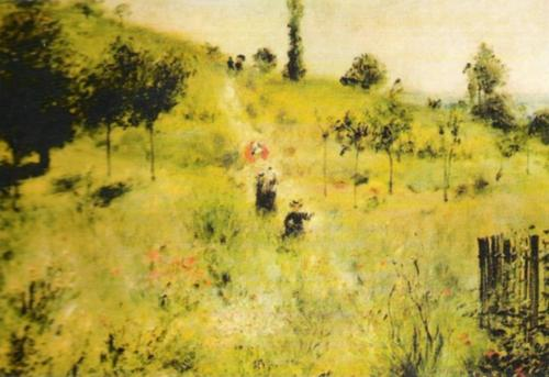 Pathway through Tall Grass by Pierre Auguste Renoir