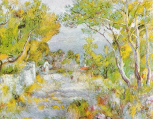 L'Estaque, 1882 by Pierre Auguste Renoir