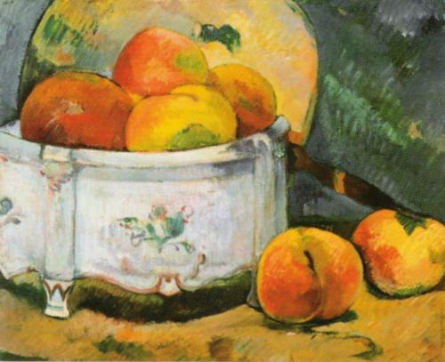 Still Life with Peaches, c.1889 by Paul Gauguin