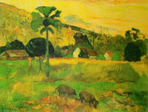 Welcome by Paul Gauguin
