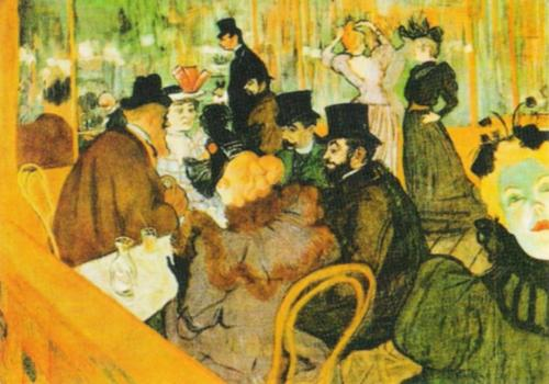 The Moulin Rouge by Henri de Toulouse-Lautrec