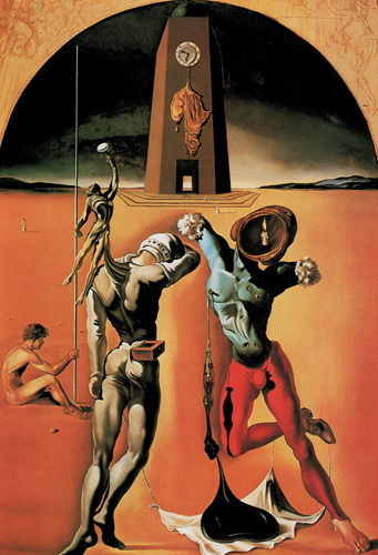 Poesie d'Amerique, 1943 by Salvador Dali