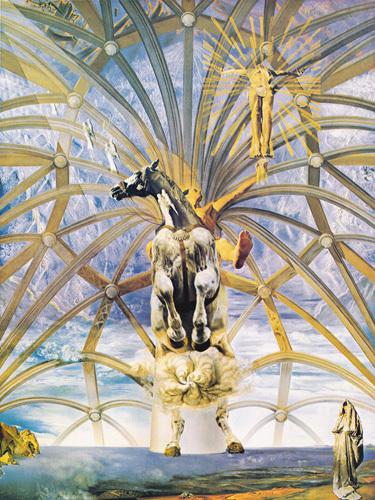 Santiago El Grande, 1957 by Salvador Dali