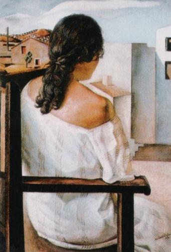 Muchacha de Espalda by Salvador Dali
