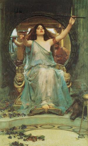 Circe, 1891 by John William Waterhouse