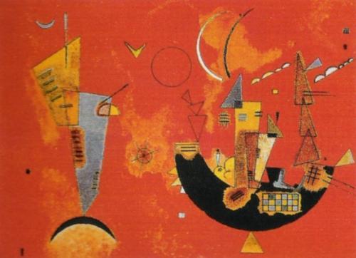 Mit und Gegen, 1929 by Wassily Kandinsky