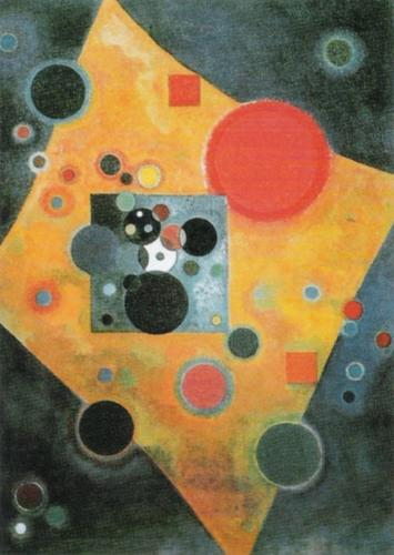 Pink Accent, 1926 by Wassily Kandinsky