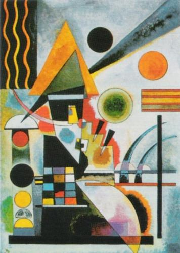 Swinging, 1925 by Wassily Kandinsky