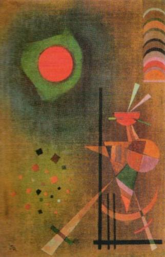 Aufleuchten, 1927 by Wassily Kandinsky