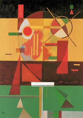 Zersetzte Spannung, 1930 by Wassily Kandinsky