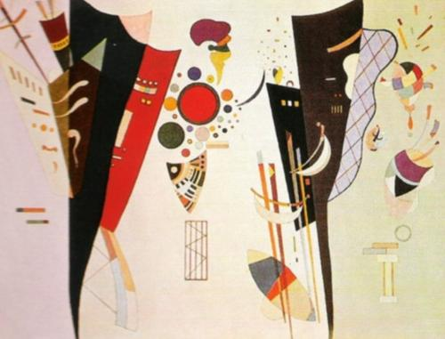 Reciprocal Agreement by Wassily Kandinsky