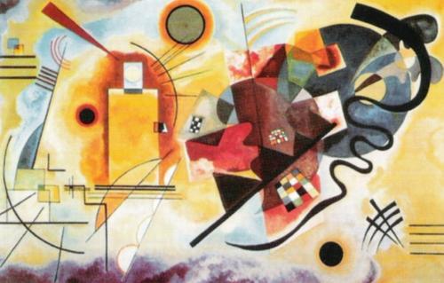 Gelb, Rot, Blau by Wassily Kandinsky