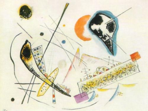 Lyrical Composition by Wassily Kandinsky