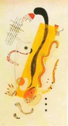 Rampante, 1934 by Wassily Kandinsky