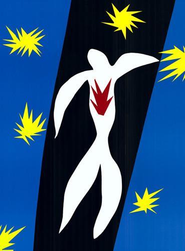 La Chute d'Icare by Henri Matisse