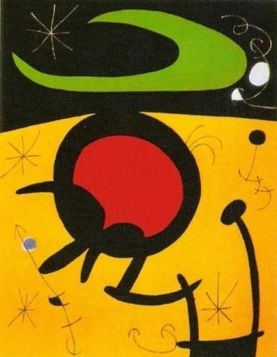 Vuelo de Pajaros by Joan Miro
