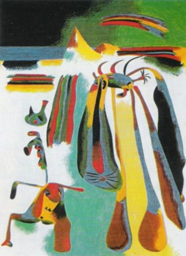 Paysan Catalan au Repos, 1936 by Joan Miro