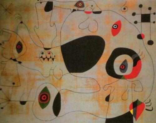Le Port, 1945 by Joan Miro