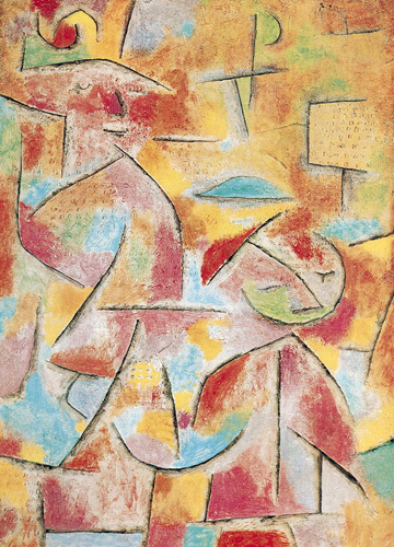 Daughter and Aunt, 1937 by Paul Klee