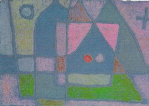 Bedroom in Venice, 1933 by Paul Klee