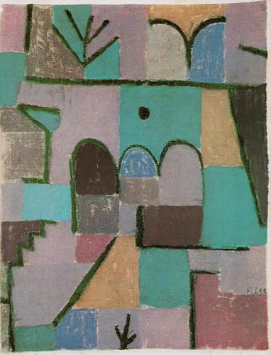 Garten im Orient, 1937 by Paul Klee